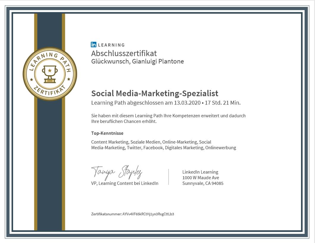 Social Media-Marketing-SpezialistTop-KentnisseContentMarketing,SozialeMedien,Online-Marketing,Social Media-Marketing,Twitter,Facebook,DigitalesMarketing,Onlinewerbung
